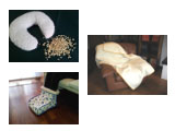 2. Pillows and accessories