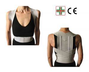 POSTURE SUPPORT BRACE WITH STAYS