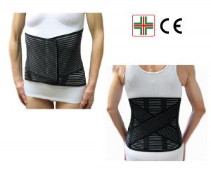 CORSETTO LOMBARE CON INCROCIO